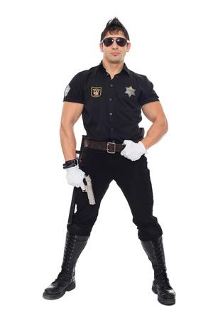 polizist: Miami Polizei, die Abteilung der Moral Lizenzfreie Bilder