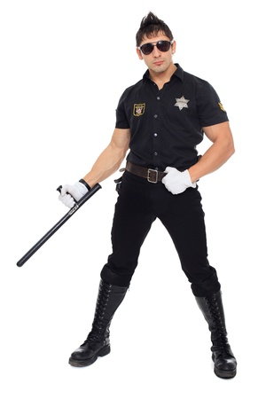 Miami police, the department of morals Stock Photo - 17270876