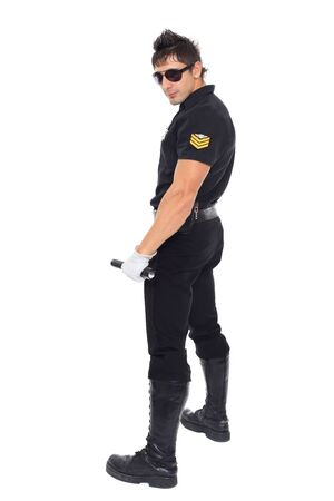 Miami police, the department of morals Stock Photo - 17270775