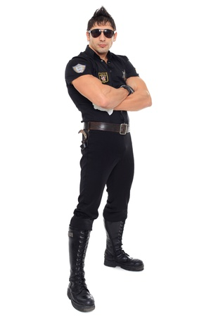 traffic warden: Miami police, the department of morals