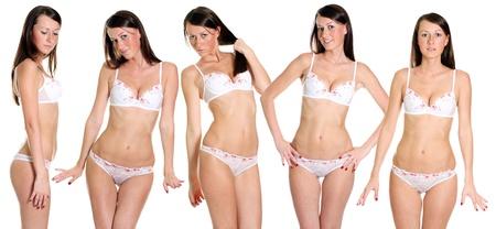 Sexy underwear models photo