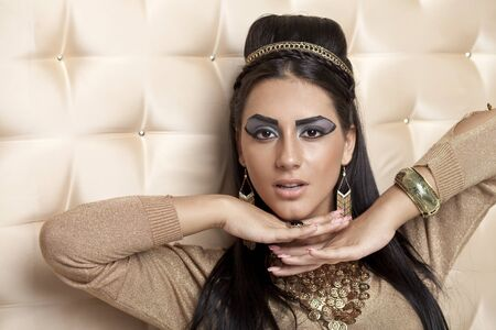egyptian woman: The Egyptian Queen Cleopatra