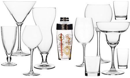 material de vidrio: cristaler�a para bebidas del bar