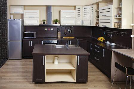 photo studio: Photo studio modern kitchen interior