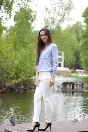 White Pants Stock Photos Images. Royalty Free White Pants Images ...