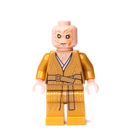 RUSSIAN, SAMARA,  JANUARY 16, 2018. Constructor Lego Star Wars. Supreme Leader of the First Order of Snoke