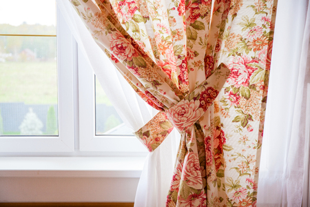 Beautiful window curtain