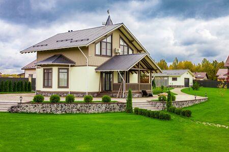 Maison de banlieue de luxe