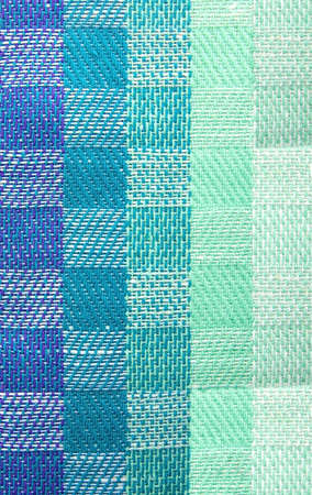 checked: Colorful tablecloth with checked pattern