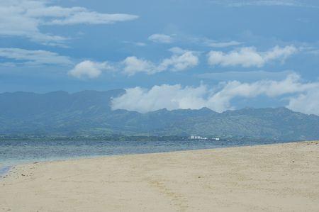 bounty: Playa Bounty Island Resort Fiji Foto de archivo