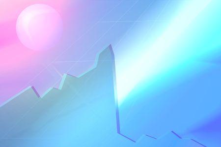 stock market crash: stock market crash financial crisis digital background picture