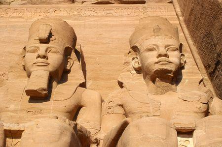 The great temple of ramses abu simbel egypt photo