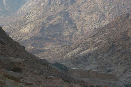 monte sinai: St catherine monasterio Monte sinai Egipto