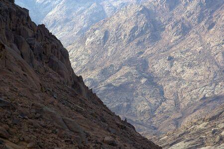 monte sinai: El lugar de Mois�s y el Egipto de los diez mandamientos del Monte Sina�  Foto de archivo