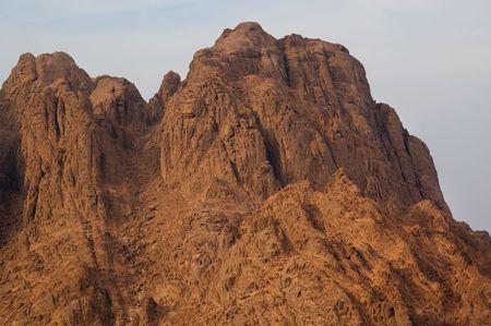 Monte Sinai, luogo di Mos� e i dieci comandamenti Egitto Archivio Fotografico