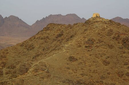 Mount Sinai the place of Moses and the ten commandments Egypt photo