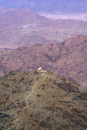 commandment: Mount Sinai the place of Moses and the ten commandments Egypt