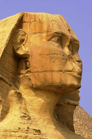An ancient wonder of the world sphinx cairo egypt photo