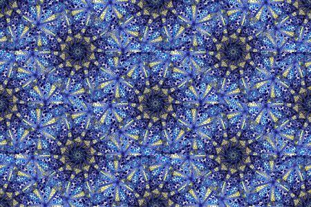 Moschea araba mosaico blu tile pattern in stretta fino  Archivio Fotografico