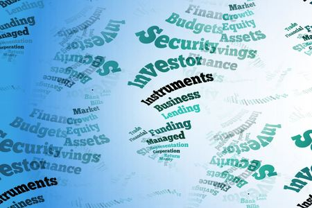 lending: stylised business concept word cloud background