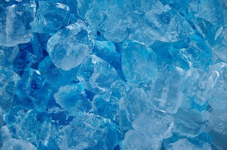 frozen real ice cube background backdrop abstract Stock Photo