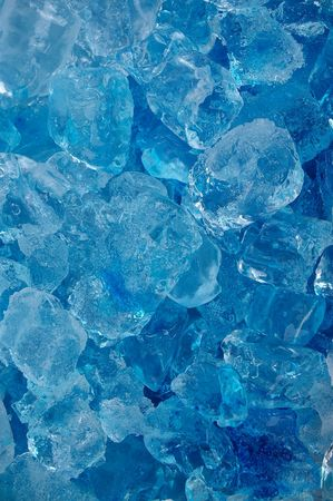 crushed ice: frozen real ice cube background backdrop abstract Stock Photo