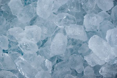crushing: frozen real ice cube background backdrop abstract Stock Photo