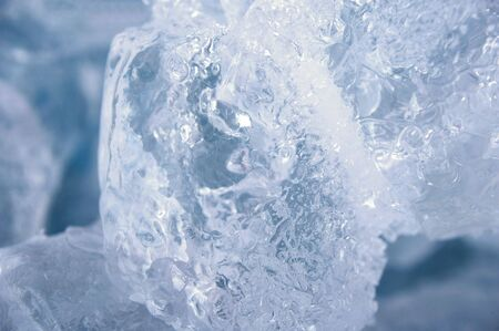 extreme close up real ice cube background  photo
