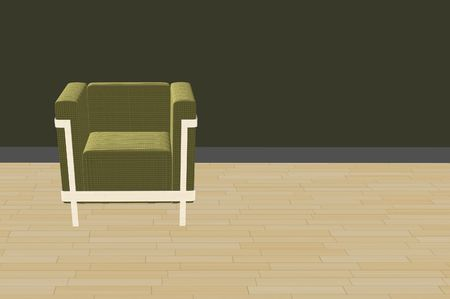 simple 3d furniture render background design Stock Photo - 8003814