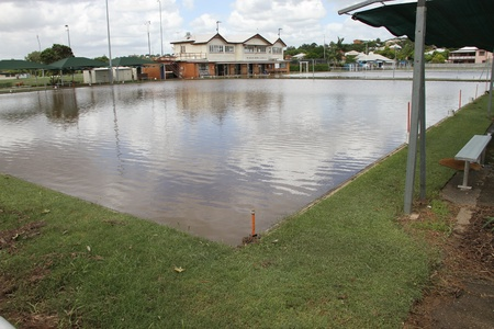 flood area: BRISBANE, AUSTRALIA - JAN 13 : Flood  Brisbane  windsor area January 13, 2011 in Brisbane, Australia  Editorial