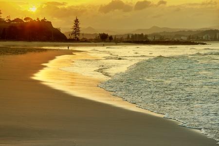 coolangatta: hdr image of coolangatta gold coast queensland australia