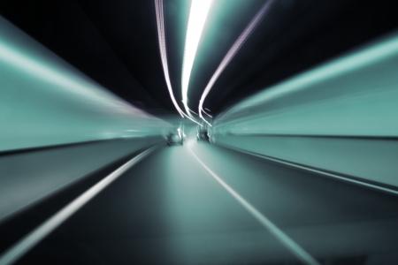 light speed: brisbane t�nel abstracto del elefante blanco clem 7 y caminos de enlace del aeropuerto de peaje