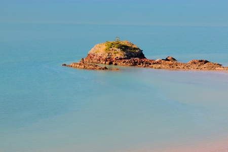 whitsundays: wedge island part of whitsundays cape hillsborough national park