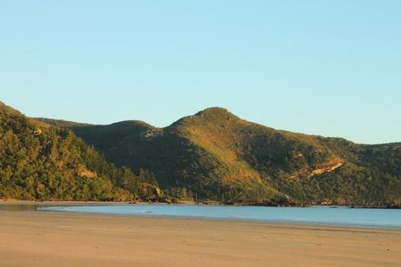 barrier island: Smalleys Beach and Beachcomber Cove area Cape Hillsborough national park queensland australia