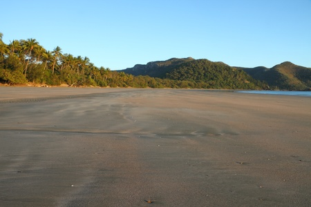 airlie: Smalleys Beach and Beachcomber Cove area Cape Hillsborough national park queensland australia