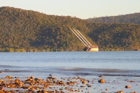 barrier island: get shipwrecked in airlie beach Beach whitsundays tropical holiday region of far north queensland australia
