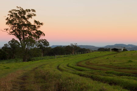 rural australia farmland bush scene toowoomba darling downs photo