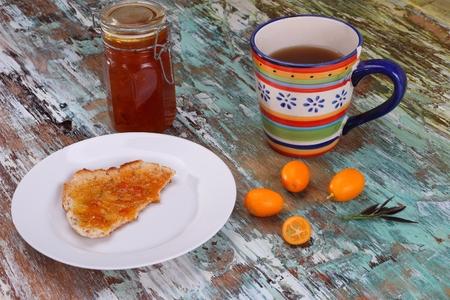cumquat: Cumquat jam made with cardamom cinnamon and star anise