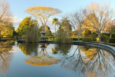 toowoomba: laurel bank park vison imapred scented garden water feature toowoomba