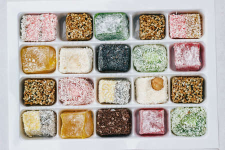 Image of Assorted Turkish Delight in the box