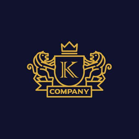 手紙 K 紋章付き外衣