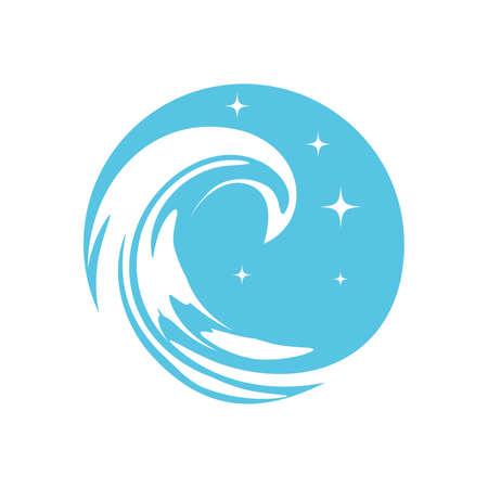 Blue Wave Иллюстрация