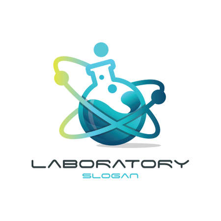 Lab Logo  イラスト・ベクター素材