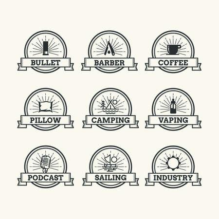 Emblem Logo Set