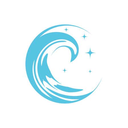 Blue Wave Ilustração