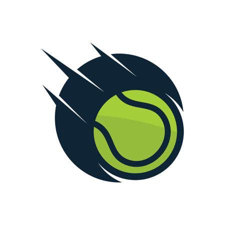 2D tennis ball design