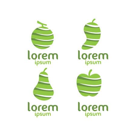 Lorem fruit icon.