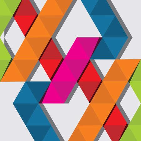Astratto sfondo geometrico colore Archivio Fotografico - 85882222