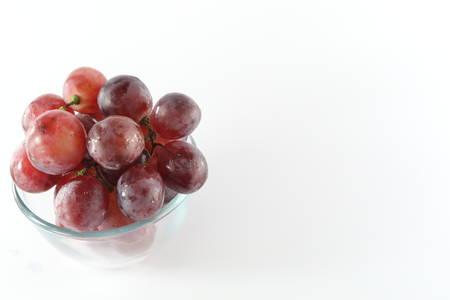 grapes in the bowl Archivio Fotografico