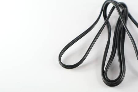 wire in white background